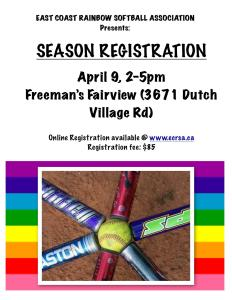 April 9th - Register at Freeman's Fairview